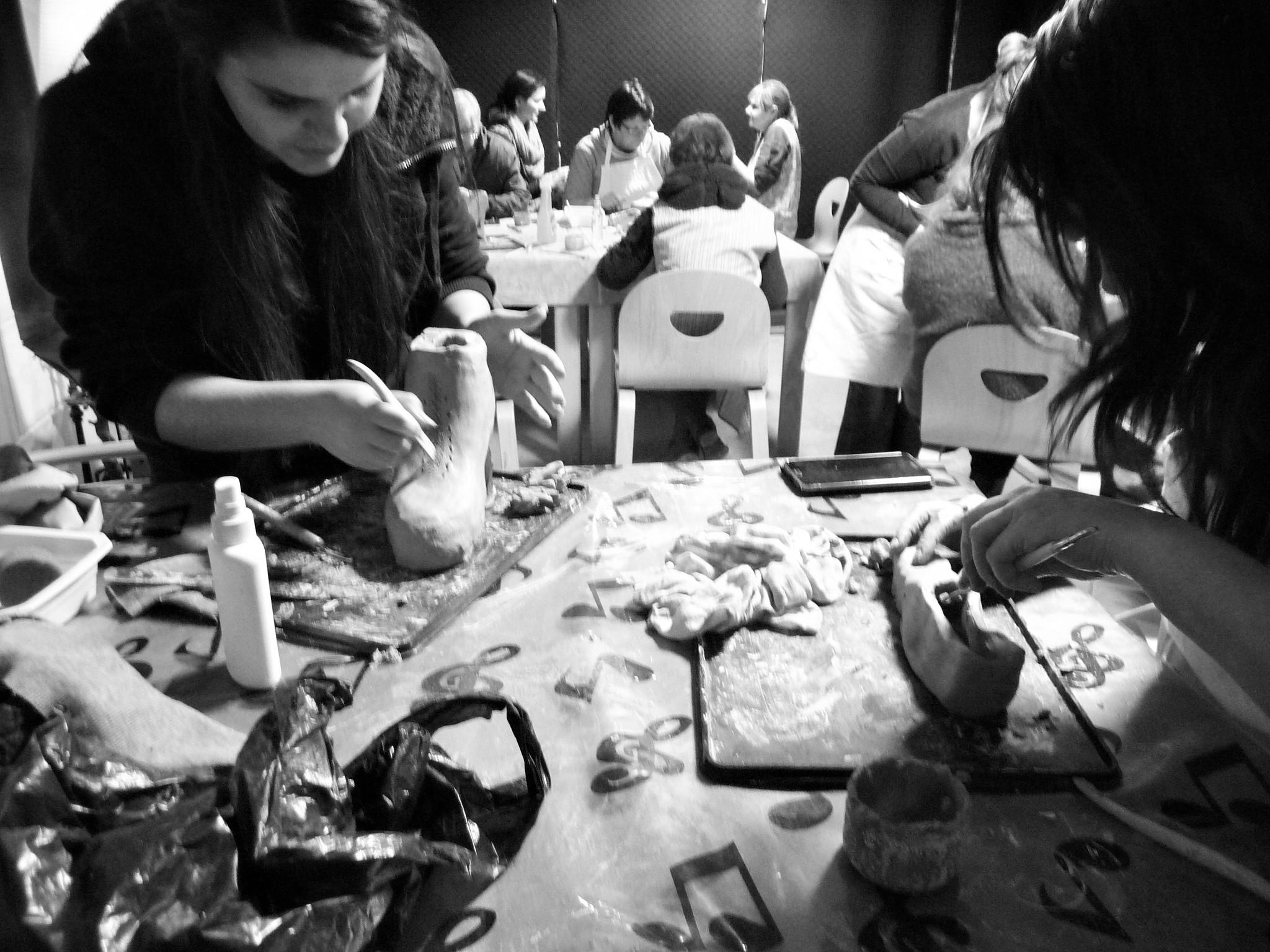 Atelier modelage